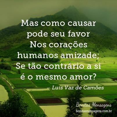 Frases De Amor Camões Mensagens Poemas Poesias Versos