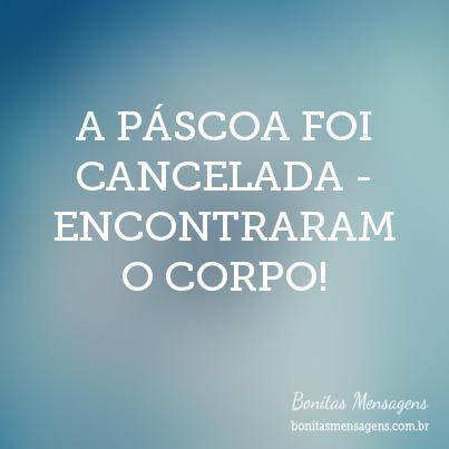 A PÁSCOA FOI CANCELADA - ENCONTRARAM O CORPO!