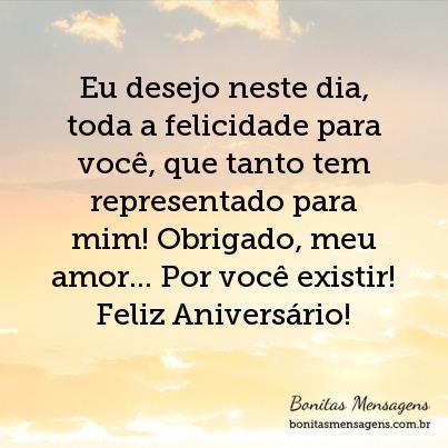 Eu Desejo Neste Dia Toda A Felicidade Para Você Que Tanto Tem